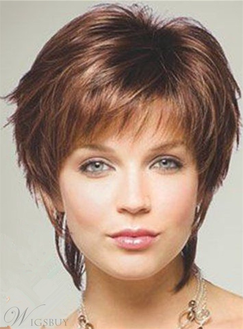 styling layered hair style layered human hair with bangs capless 3312