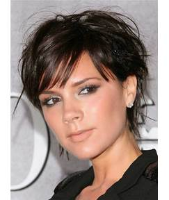 Victoria Beckham Short Straight Synthetic Hair Capless Wigs 8 Inches