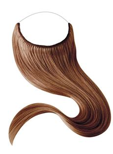 #33 Smooth Straight Human Hair Flip In Hair Extensions