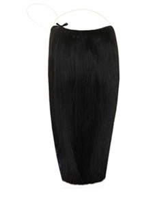 Smooth Straight 100% Human Hair Flip In Hair Extension