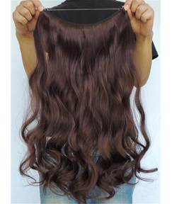 Charming Wavy Human Hair Flip In Hair Extension 16 Inches -26 Inches