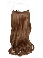 Attractive Wavy 100% Human Hair Flip In Hair Extensions