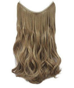 Light Honey Blonde #16 100% Human Hair Flip In Hair Extensions