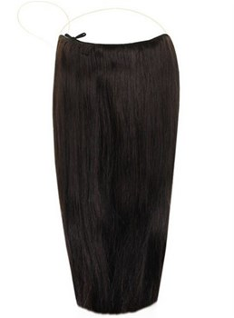Smooth Straight Human Hair Flip In Hair Extension