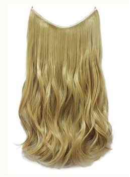Honey Blonde #27 Wavy 100% Human Hair Flip In Hair Extensions