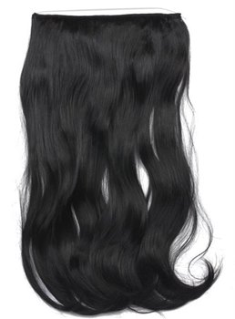 #1B Loose Wave 100% Human Hair Flip In Hair Extensions