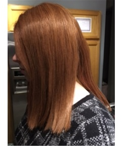 Blunt Cut Bob Hairstyle Mid-length Straight Human Hair Mono Top Women Wigs 14 Inches
