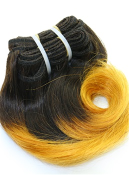1B/144 Short Straigth Human Hair Weave Hair Extension 8 Inches