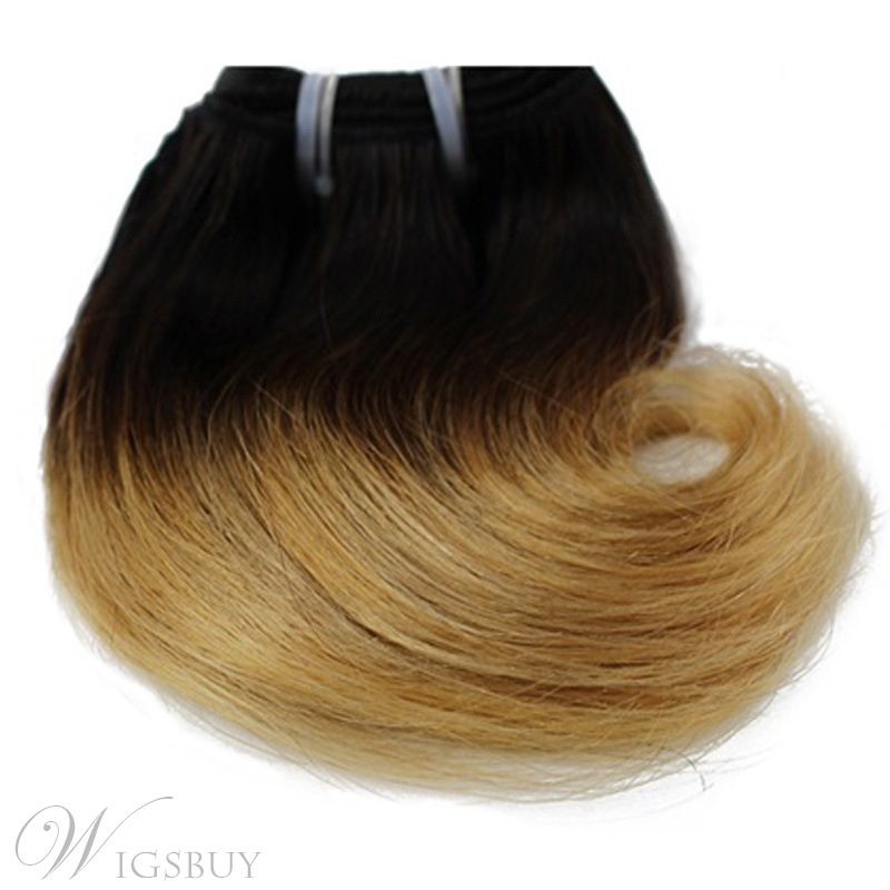1b27 Short Straight Human Hair Weave 8 Inches Wigsbuy
