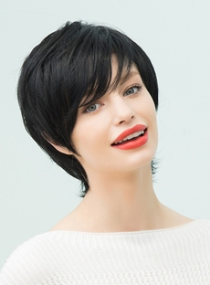 Short Layered Hairstyles For Thick Hair : Wigsbuy.com