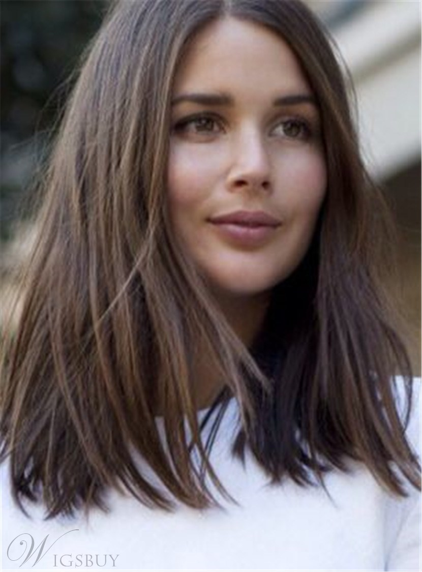 blunt cut medium length hairstyles hairstyles