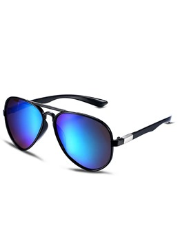 Green Resin Lens Color Film Polarized Sunglasses