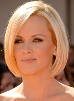 Trendy Lob Short Straight Human Hairstyle Lace Front Wig 10 Inches