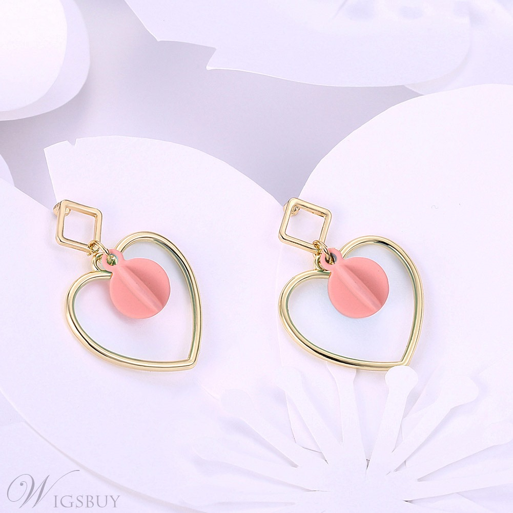 original hoop heart a hint with scream hing pretty of screampretty bling by pink sparkling shaped earrings product