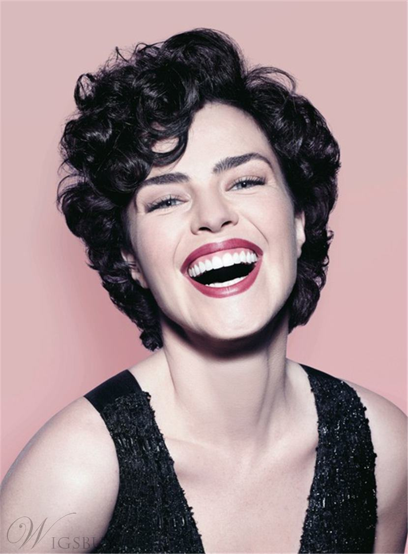 Ana Paula Ar 243 Sio Short Messy Synthetic Hair Loose Curly