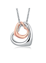 Hollow Heart-Shaped Pendant Necklace