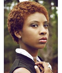 Cute Pixie Kinky Curly Human Hair For Round Face Blonde Brown Short Afro Lace Front Wigs Less Than 6 Inches