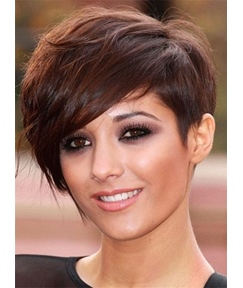 Natural Bushy Glossy Loose Boycut Synthetic Short Straight Hair Capless Women Wigs 6 Inches
