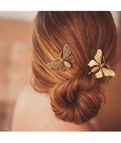 Butterfly Shaped Alloy Vintage Sweet Hair Accessories