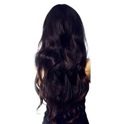 360 Lace Frontal Natural Wave Human Hair Black Women Closure