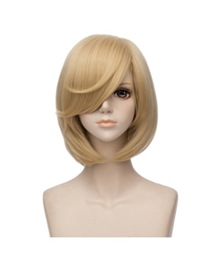 On The Ice Yuri Ripley Blonde Short Synthetic Natural Straight Capless 10 Inches