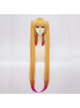 Miss Kobayashi's Dragon Maid Ombre Synthetic Straight Capless Cosplay Wig 30 Inches