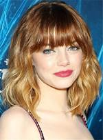 Medium Bob Popular Charming Wavy Synthetic Hair Capless Women Wigs 14 Inches