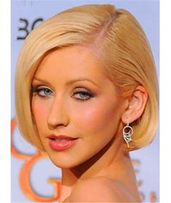 Short Chic Silky Straight Neat Lace Front Synthetic Hair Women Wig 8 Inches