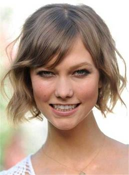 Short Cute Sweet Fashionable Wavy Synthetic Hair Capless Women Wigs 10 Inches