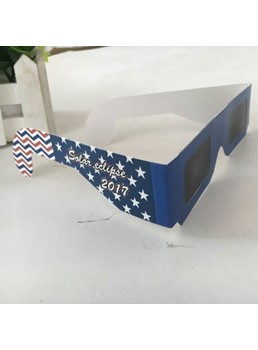 Paper Frame Solar Eclipse Glass