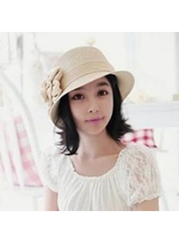 Floral Casual Fedora Hat Bucket Hat