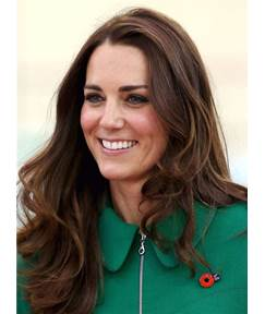 Princess Kate Attractive Synthetic Elegant Wavy Lace Front Cap Women Wigs 16 Inches
