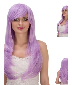 Multicolors Magic Synthetic Hair Kinky Curly Cosplay Qulity Capless Wigs 28 Inches