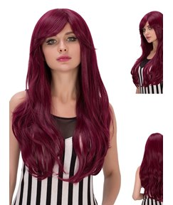 Multicolors Synthetic Hair Cosplay Qulity Capless Wigs 28 Inches