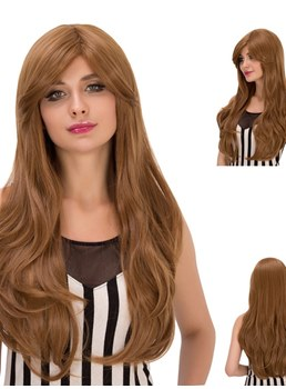Multicolors Synthetic Wavy Hair Cosplay Capless Wigs 28 Inches