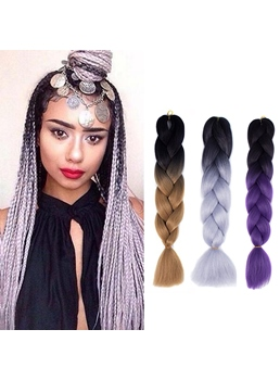 Havana Mambo Colored Twist Braid for Black Women 24 Inches