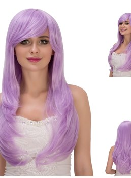 Multicolors Magic Synthetic Hair Cosplay Qulity Capless Wigs 28 Inches
