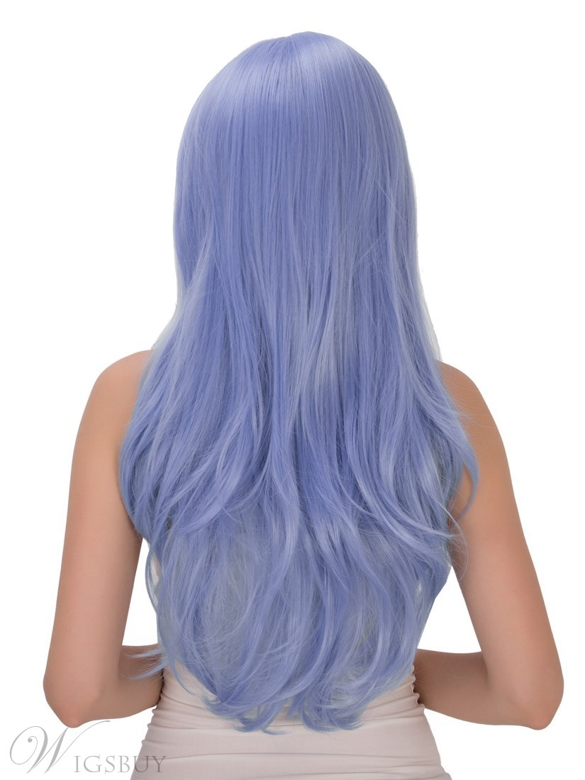 Multicolors Magic Synthetic Hair Cosplay Qulity Capless Women Wigs 28 Inches