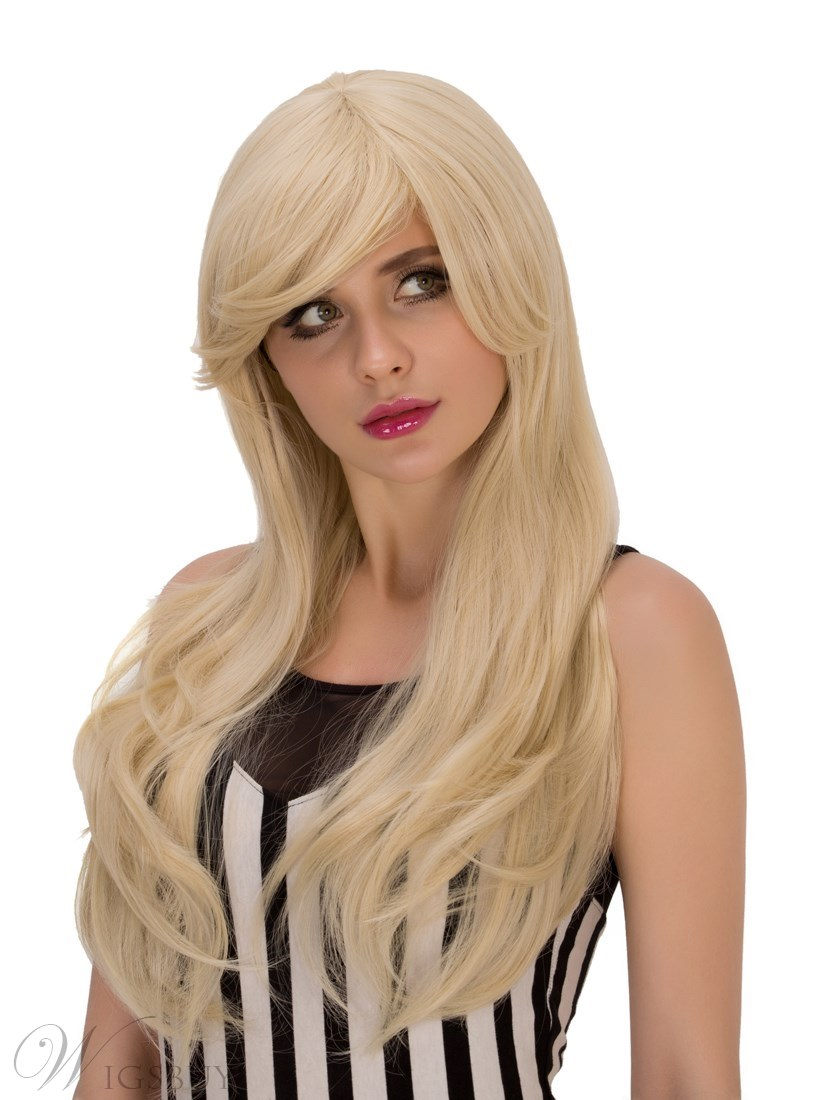 Multicolors Special Synthetic Hair Kinky Curly Cosplay Qulity Capless Fun Wigs 28 Inches