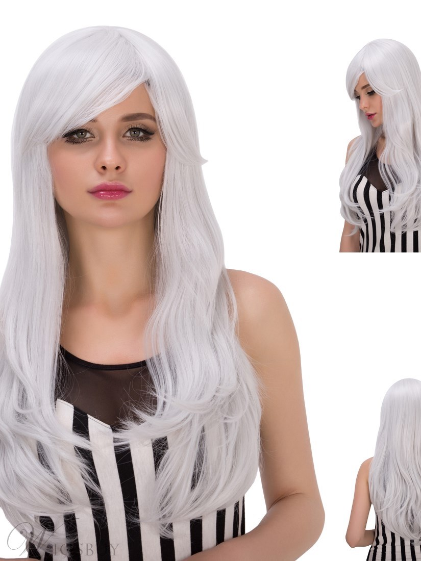 Multicolors Good Synthetic Hair Cosplay Qulity Capless Wigs 28 Inches