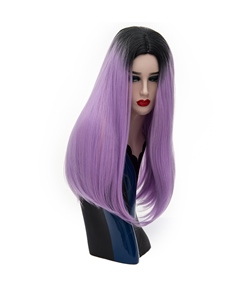 Cosplay Straight Fashion Color Multicolor Hair