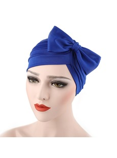 Pleated Bowknot Headcloth Turban