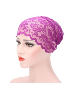 Lace Bottoming Muslim Turban