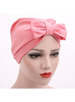 mode modal bowknot puggaree turban
