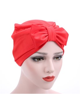 Stretch Fabric Bowknot Puggaree Turban