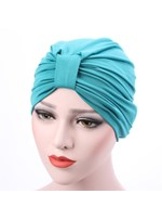 Patchwork Pleated Plain Indian Turban
