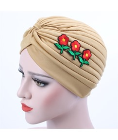 Appliques Plain Pleated Indian Muslim Turban