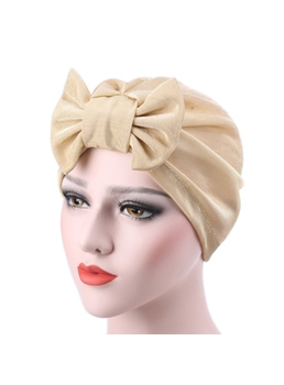 Cotton Adjustable Indian Headcloth Bowknot Turban