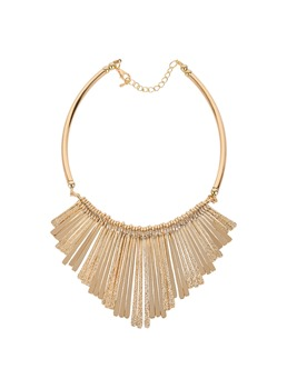 Accshine Simple Long Flake Alloy Necklace