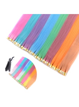 Color Varies With Temperature Synthetic Straight Hair 1 Set